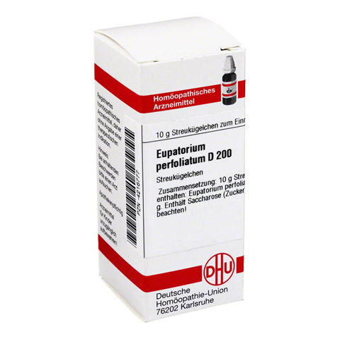 EUPATORIUM PERFOLIATUM D 200 Globuli 10 Gramm N1