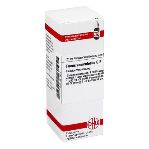 FUCUS VESICULOSUS C 2 Dilution 20 Milliliter N1
