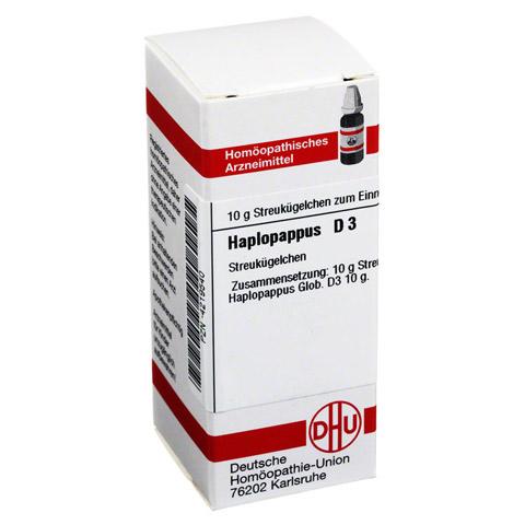 HAPLOPAPPUS D 3 Globuli 10 Gramm N1
