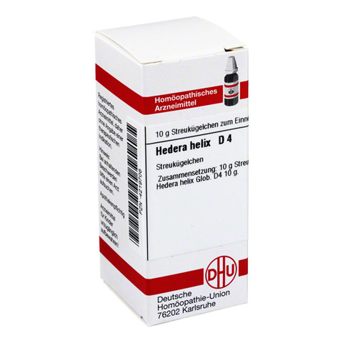 HEDERA HELIX D 4 Globuli 10 Gramm N1