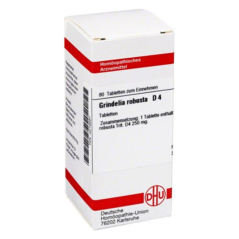 GRINDELIA ROBUSTA D 4 Tabletten 80 Stück N1