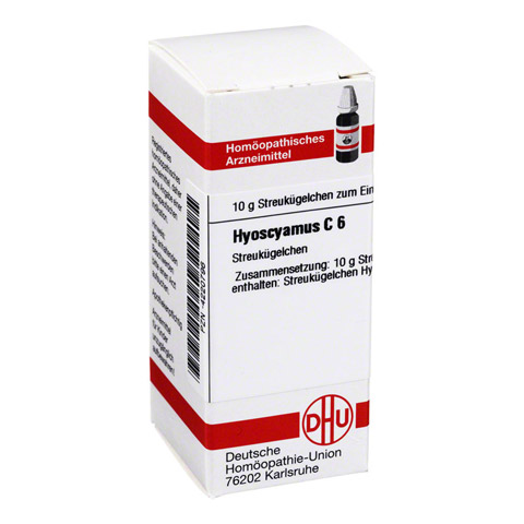 HYOSCYAMUS C 6 Globuli 10 Gramm N1