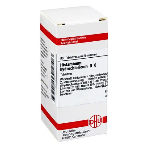 HISTAMINUM hydrochloricum D 6 Tabletten 80 Stück N1