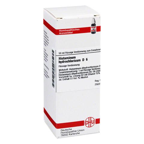 HISTAMINUM hydrochloricum D 6 Dilution 50 Milliliter N1