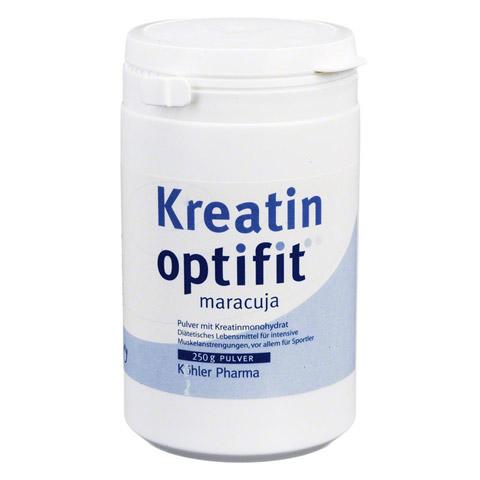 KREATIN OPTIFIT Maracuja Granulat 250 Gramm