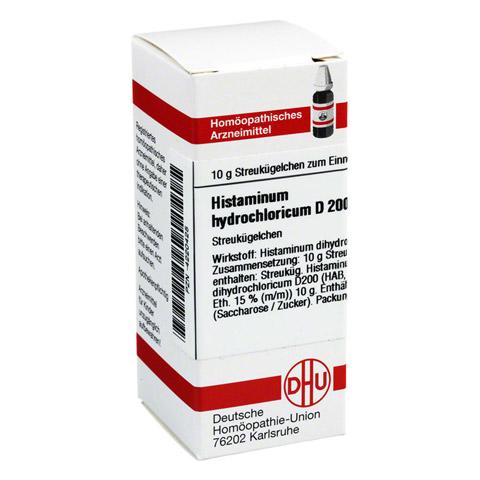 HISTAMINUM hydrochloricum D 200 Globuli 10 Gramm N1