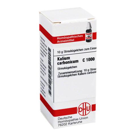 KALIUM CARBONICUM C 1000 Globuli 10 Gramm N1