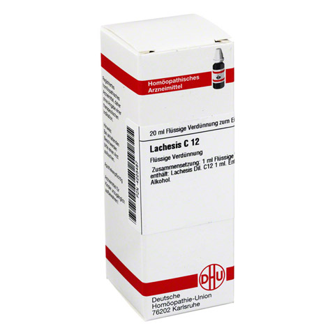 LACHESIS C 12 Dilution 20 Milliliter N1