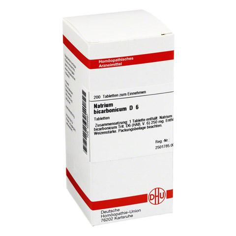 NATRIUM BICARBONICUM D 6 Tabletten 200 Stück