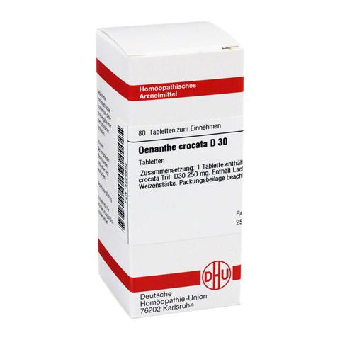 OENANTHE CROCATA D 30 Tabletten 80 Stück