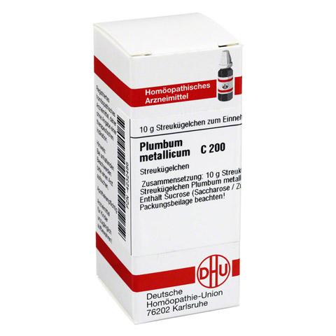 PLUMBUM METALLICUM C 200 Globuli 10 Gramm N1