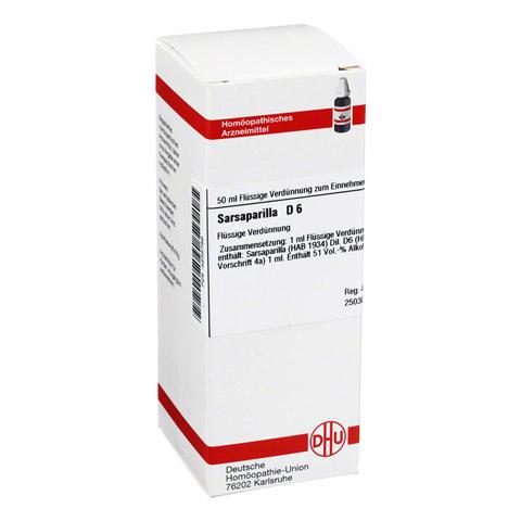SARSAPARILLA D 6 Dilution 50 Milliliter N1