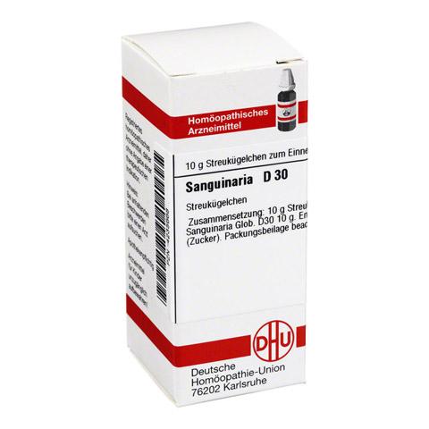 SANGUINARIA D 30 Globuli 10 Gramm N1