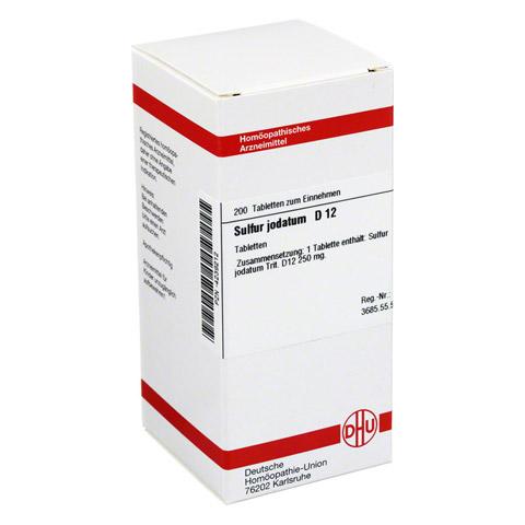 SULFUR JODATUM D 12 Tabletten 200 Stück N2
