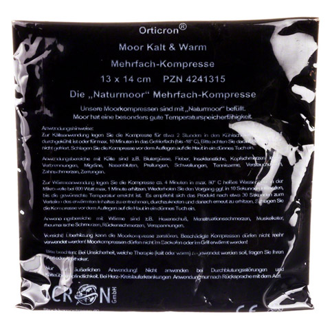 MOOR KALT+WARM Mehrfachkompr.Orticron 13x14 cm 1 Stück