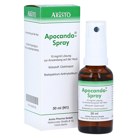 Apocanda-Spray 10mg/ml 30 Milliliter N1