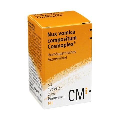 NUX VOMICA COMPOSITUM Cosmoplex Tabletten 50 Stück N1