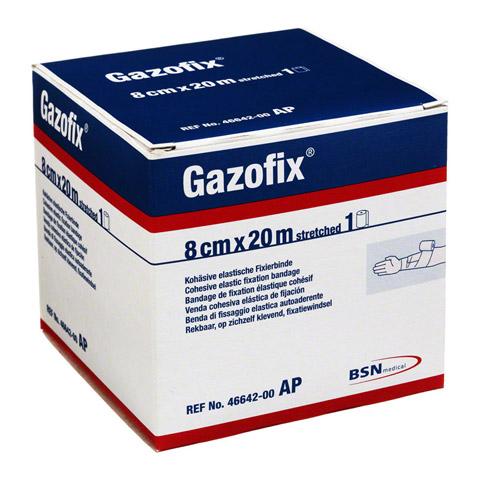 GAZOFIX Fixierbinde 8 cmx20 m hautf. 1 Stück