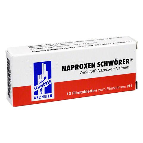 Naproxen Schwörer 10 Stück N1