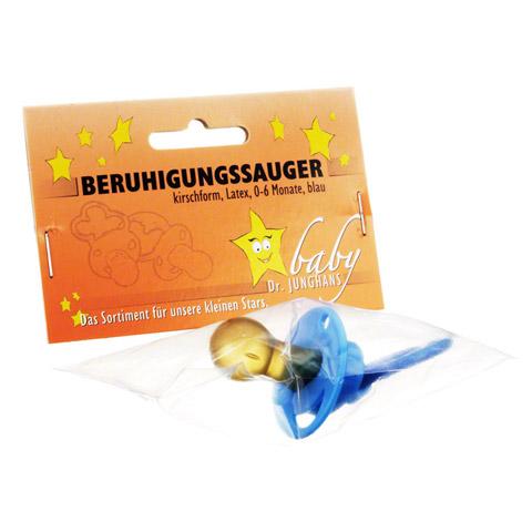 BERUHIGUNGSSAUGER Kirschf.Lat.0-6 M.blau 1 Stück