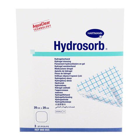 HYDROSORB Wundverband 20x20 cm 3 Stück