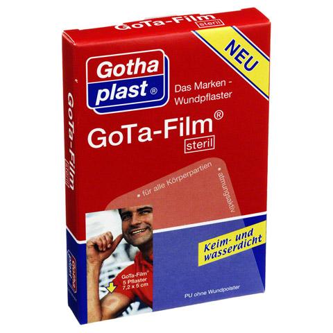 GOTA FILM steril 7,2x5cm Pflaster 5 Stück