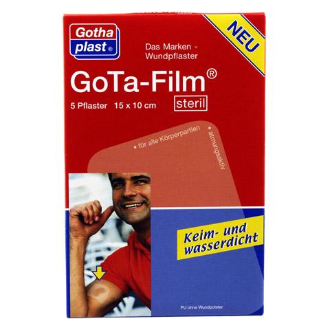 GOTA FILM steril 15x10cm Pflaster 5 Stück