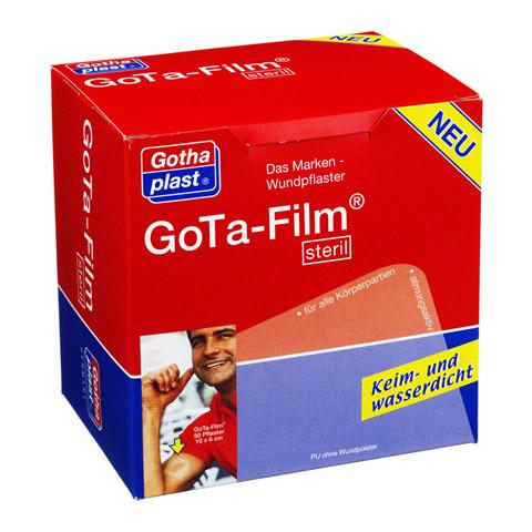 GOTA FILM steril 10x6cm Pflaster 50 Stück