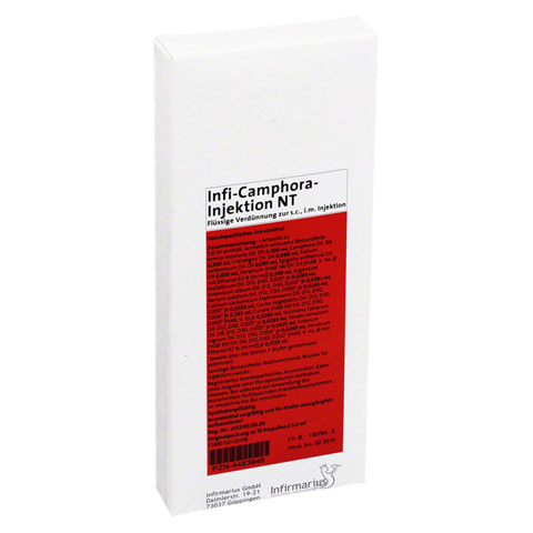 INFI CAMPHORA Injektion NT 10x5 Milliliter N1