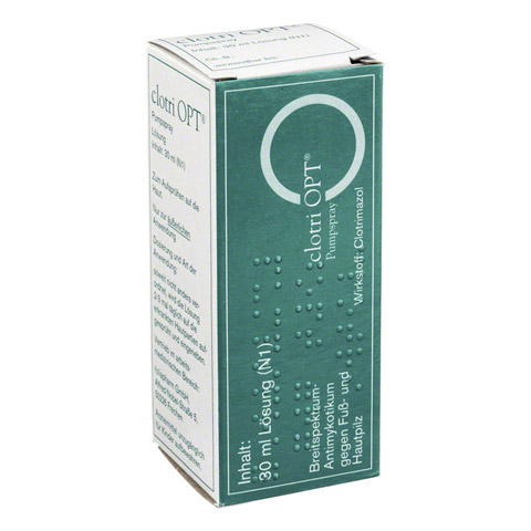 Clotri OPT Pumpspray 30 Milliliter N1