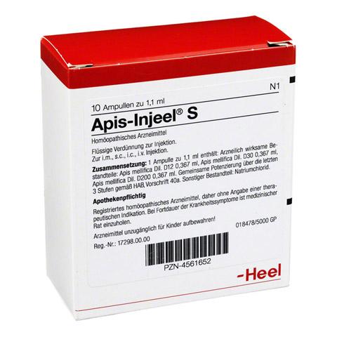 APIS INJEEL S Ampullen 10 Stück N1