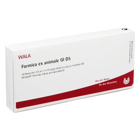 FORMICA EX ANIMALE GL D 5 Ampullen 10x1 Milliliter N1