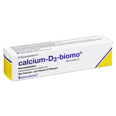 Calcium-D3-biomo 1000mg/880I.E. 20 Stück N1