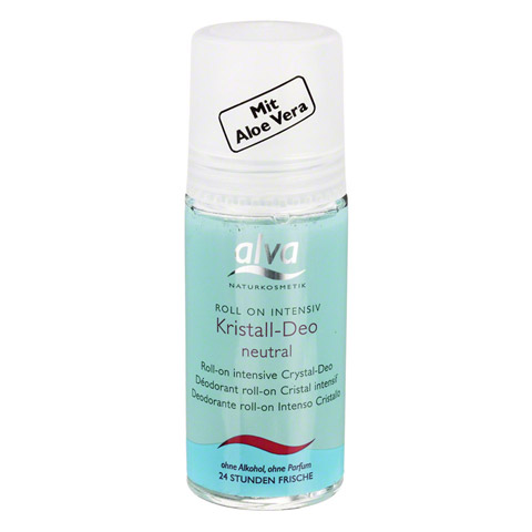 ALVA Kristall Deo Roll-on Intensiv 50 Milliliter