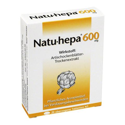 Natu-hepa 600mg 20 Stück