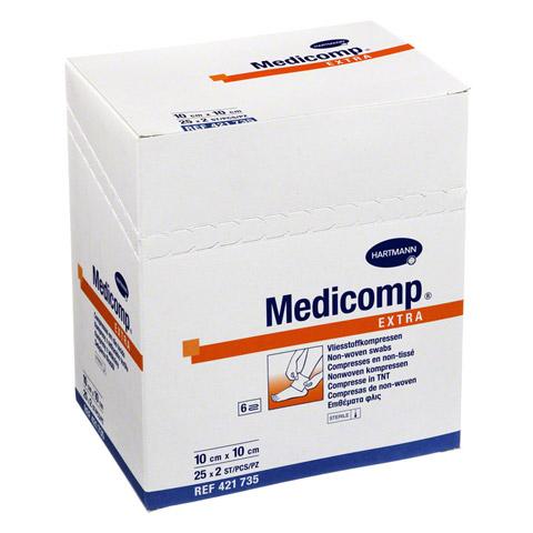 MEDICOMP extra Kompressen 10x10 cm steril 25x2 Stück