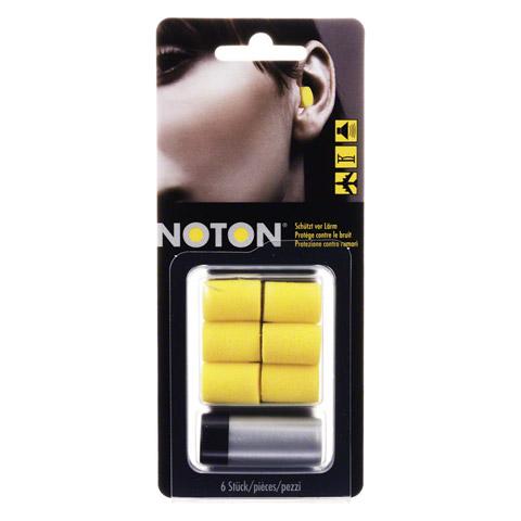 NOTON Gehörschutz-Pfropfen 6 Stück