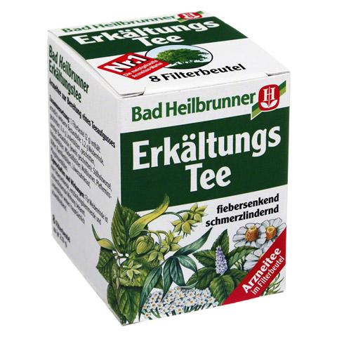 BAD HEILBRUNNER Erkältungstee N Filterbeutel 8x2.0 Gramm
