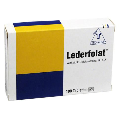 LEDERFOLAT Tabletten 100 Stück N3