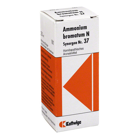 SYNERGON KOMPLEX 37 Ammonium bromatum N Tropfen 20 Milliliter