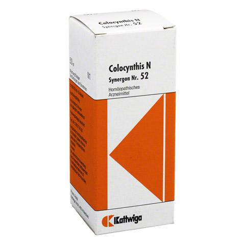SYNERGON KOMPLEX 52 Colocynthis N Tropfen 50 Milliliter N1