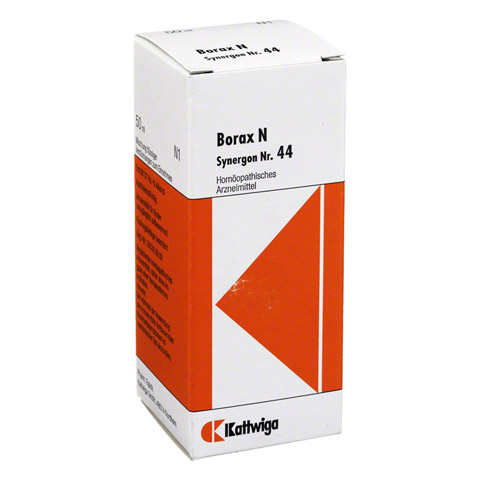 SYNERGON KOMPLEX 44 Borax N Tropfen 50 Milliliter N1