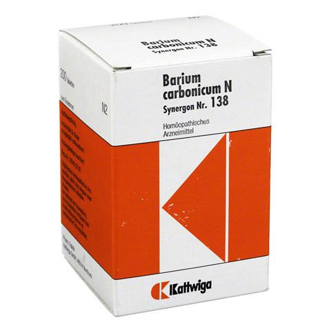 SYNERGON KOMPLEX 138 Barium carbonicum N Tabletten 200 Stück
