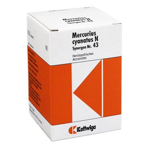 SYNERGON KOMPLEX 43 Mercurius cyanatus N Tabletten 200 Stück