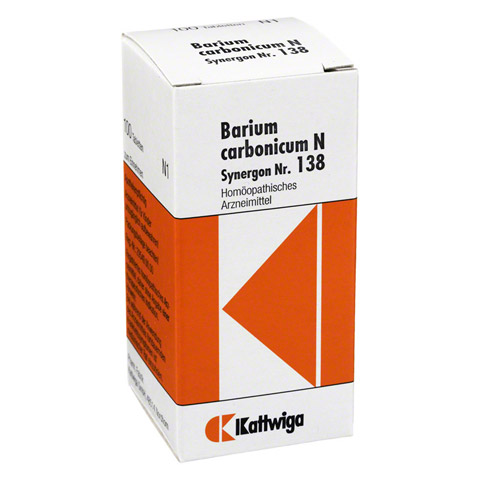 SYNERGON KOMPLEX 138 Barium carbonicum N Tabletten 100 Stück