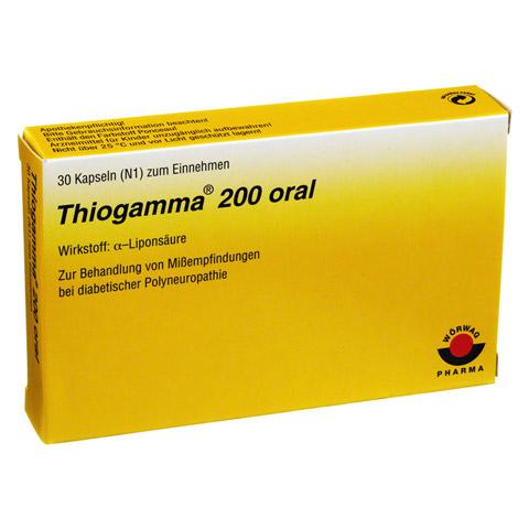 THIOGAMMA 200 oral Weichkapseln 30 Stück N1