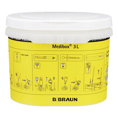 MEDIBOX Entsorgungsbehälter 3 l 1 Stück