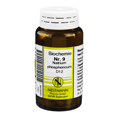 BIOCHEMIE 9 Natrium phosphoricum D 12 Tabletten 100 Stück