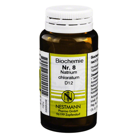 BIOCHEMIE 8 Natrium chloratum D 12 Tabletten 100 Stück