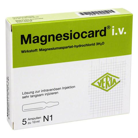 Magnesiocard i.v. 3mmol Injektionslösung 5x10 Milliliter N1